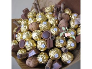 Букеты из конфет с верностью к качеству