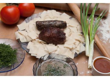 Хинкал Лезгинский (Кумыкский) с бараниной / 450 гр