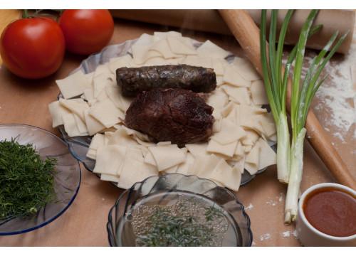 Хинкал Лезгинский (Кумыкский) с говядиной