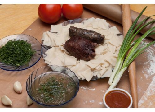 Хинкал Лезгинский с мясом сушеным