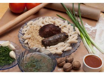 Хинкал Лакский с бараниной / 450 гр