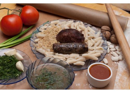Хинкал Лакский с мясом сушеным