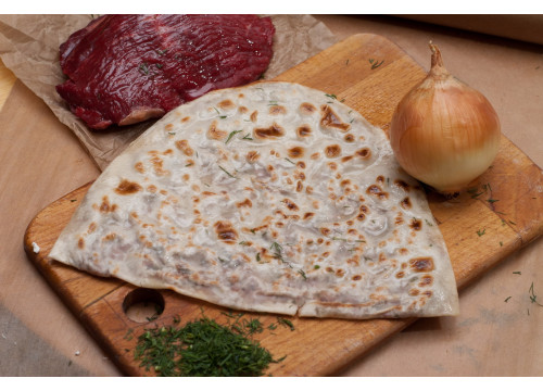 Афарар с мясом (кутаб с мясом)