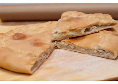 Чуду даргинское c курицей и картошкой (пирог)