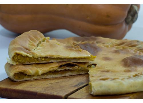 Чуду даргинское с тыквой курдюком и орехами (пирог)