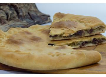 Чуду даргинское с сушеным мясом и картошкой (пирог) / 800 гр