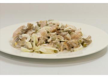 Курица с грибами / 200 гр